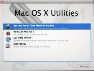 Come Ripristinare il Mac ad una Data Precedente