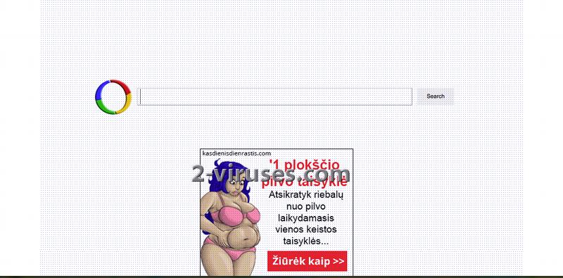 Websearch.calcitapp.info virus