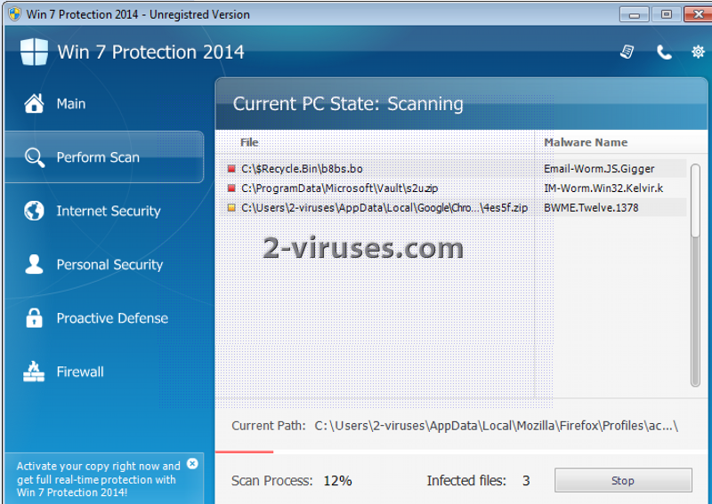 Win 7 Protection 2014