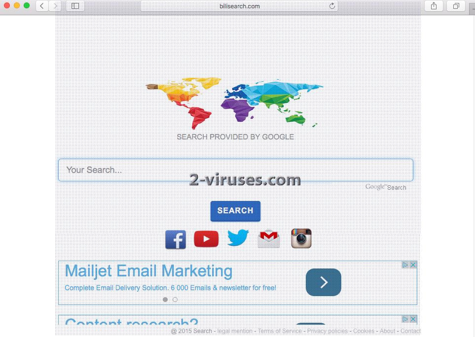 Bilisearch.com virus