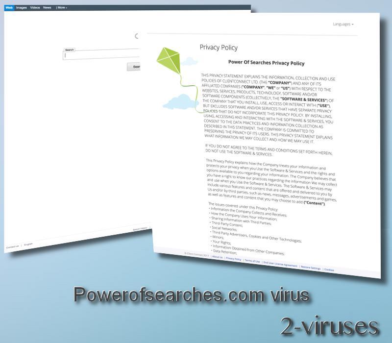 Powerofsearches.com virus remove
