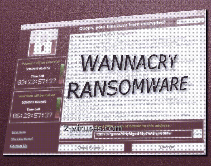 WanaDecrypt0r virus