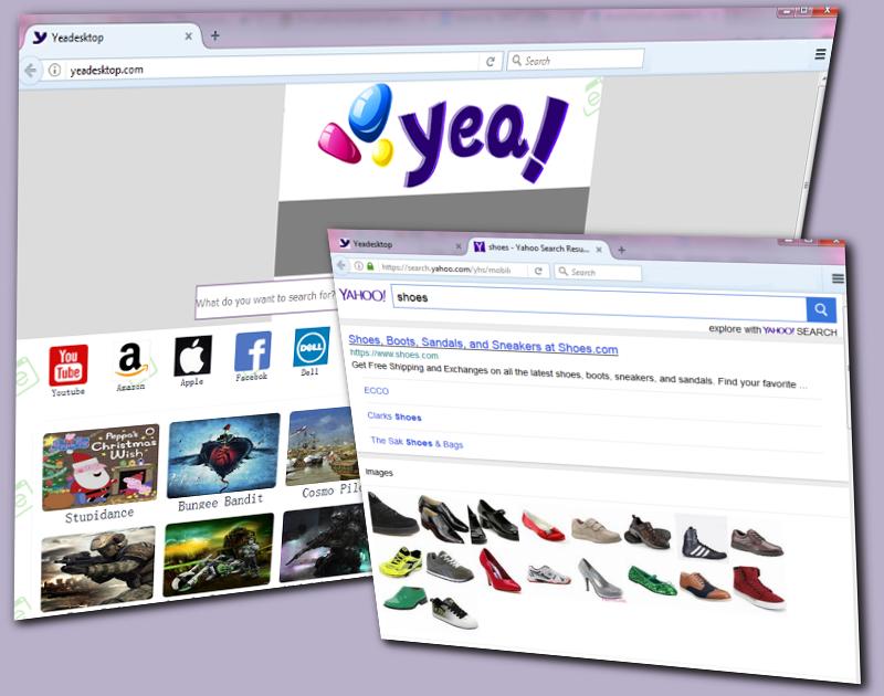 Yeadesktop.com hijacker