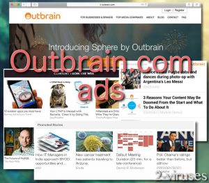 Outbrain.com ads