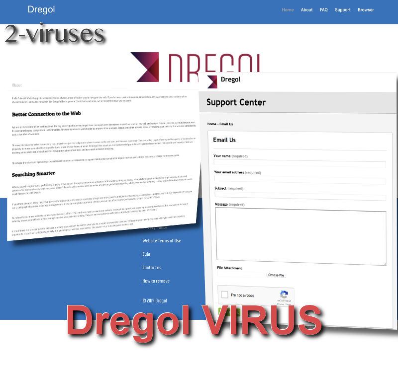 Dregol virus remove