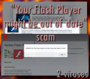 """Your Flash Player might be out of date"" scam"