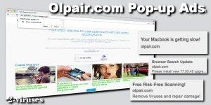 Gli annunci pop-up Olpair.com