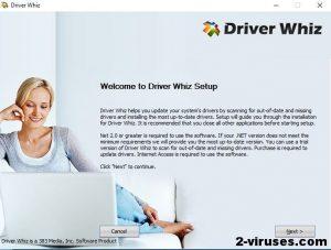 Il virus Driver Whiz