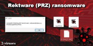 Il ransomware Rektware