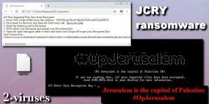 Il ransomware JCry