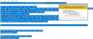 Il virus DJVU (Ransomware)