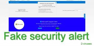 Pornographic Virus Alert da Microsoft